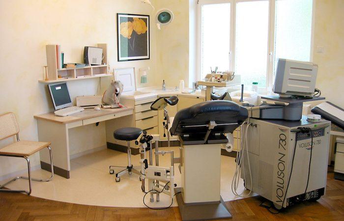 Frauenarzt Edler Stadthagen Behandlungsraum