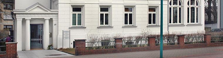 Frauenarzt Stadthagen Gebäude Header